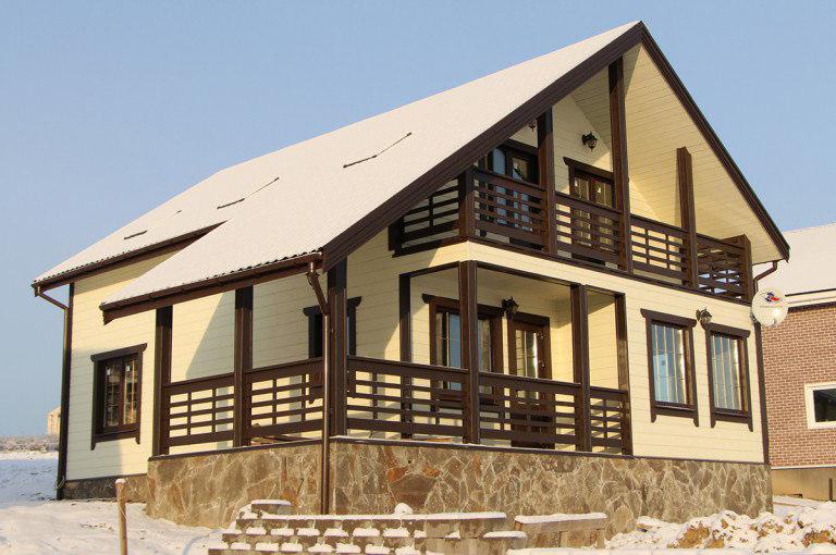 Дом на склоне от Хаус Маркет