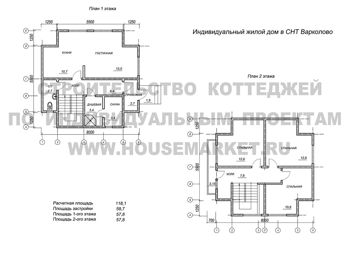 Кузьмолово планировка Хаус Маркет
