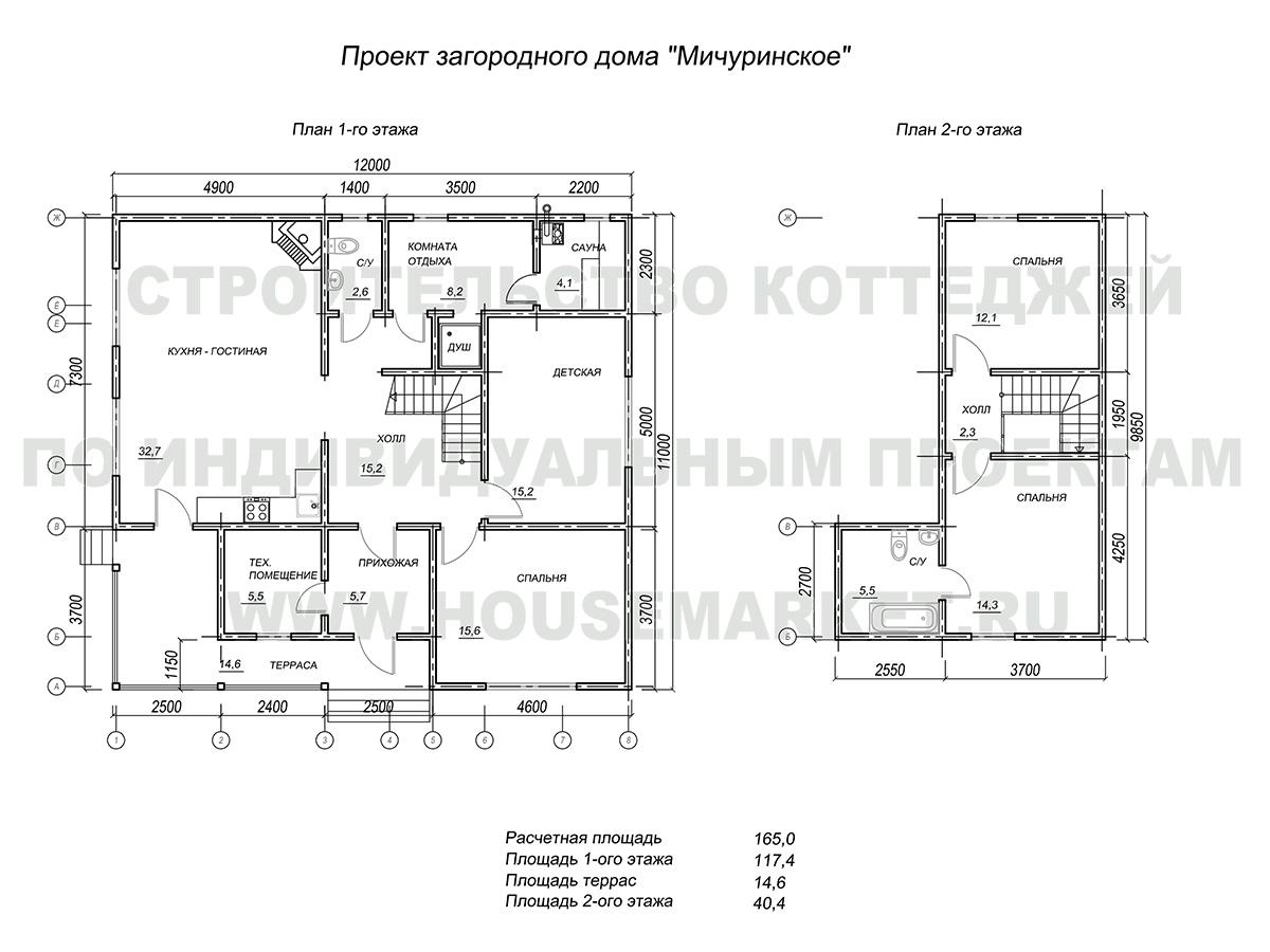 Мичуринское планировки Хаус Маркет