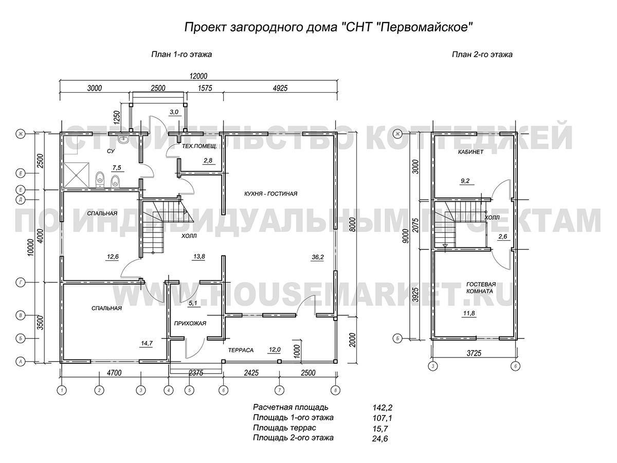 Первомайское планировки хаус маркет