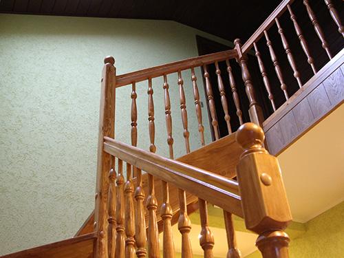 деревянная лестница хаус маркет